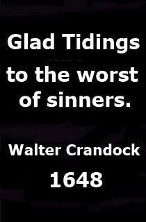 Walter Cradock Glad Tidings