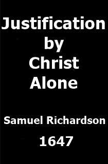 Justification by Christ Alone