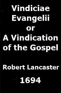 Lancaster Gospel Vindication
